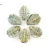 Lamp Bead Leaf 6Pc 22.5x14.5mm Multi Forest